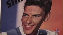 អ្នកចម្រៀងដ៏ល្បីឈ្មោះ លោក Frank Sinatra ត្រូវបានអ្នករស់នៅក្នុងក្រុងតូចមួយ រំឭកដោយមោទនភាព