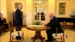 2015-09-15 美國之音視頻新聞:特恩布爾宣誓就任澳洲總理