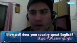 TALK2US: How Well Does Your Country Speak English?