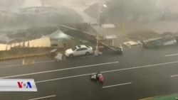 زریانێـکی بەهێز لە تایوان دەدات