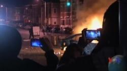Baltimor: norozi aholi va politsiya yuzma-yuz