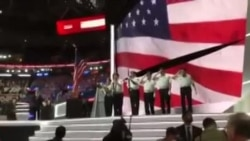 RNC2016 hymne nationale americain (Facebook Live)