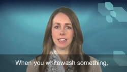 English in a Minute: Whitewash