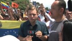Venezuela: Lilian Tintori insiste en la protesta pacífica