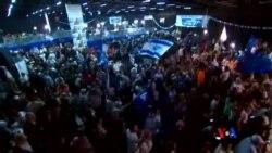 2015-03-18 美國之音視頻新聞: 內塔尼亞胡領導的政黨贏得國會選舉