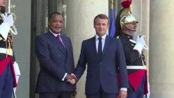 Le président congolais reçu par Emmanuel Macron