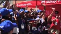 Los-Anjeles shahrida aqli zaiflar uchun maxsus olimpiada