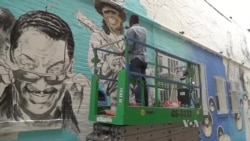 Mural Ben's Chilli Bowl Mural - um exemplo a seguir na arte do graffiti