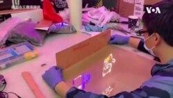 华裔制作防疫插管箱,支援纽约医院