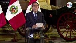Perú, de crisis a división