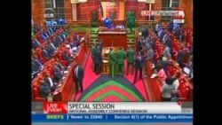 Bagarre au parlement kenyan
