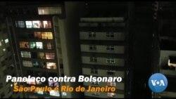São Paulo, Rio de Janeiro e outras cidades têm panelaço antecipado contra Bolsonaro