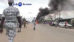 VOA60 AFIRKA: Ivory Coast, Rikici Ya Barke A Garuruwa Da Dama Bayan Da Aka Amince Da Alassane Outtara Ya Tsaya Takara, Satumba 11, 2015