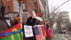 Hiriira mormii hawaasa Oromoo waajjira Tokkummaa Mootummootaa fuul-dura,Niiw Yorki,USA