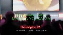 Malala Yousafzai - 2014 US Liberty Medal