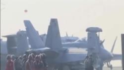 里根號航母加入美韓聯合軍演