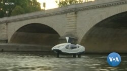 Noise and Pollution Free, Green 'Flying Taxi' Spreads Wings on Paris' Seine