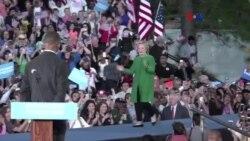 Trump y Clinton buscan el voto de electores indecisos