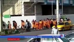 تداوم اعتراضات صنفی در شهرهای مختلف ایران