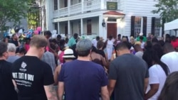 Saturday Evening Prayer Outside Emanuel AME Church