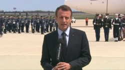 Macron: State Visit 'Very Important' For US, France