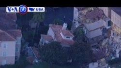 Hố tử thần dưới khách sạn làm sập và hư hỏng nhiều tòa nhà