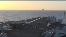 У військово-морському флоті США сподіваються використати обіцяні Трампом бюджетні гроші на модернізацію застарілого авіаційного парку. Відео