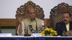 کشمیر پر سب سے بات کرنا چاہتے ہیں: راجناتھ سنگھ