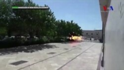 Humeyni'nin Türbesine Saldırının Görüntüleri Yayınlandı