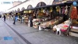 Eminönü Çarşısı Ramazan Öncesi İlk Kez Issız