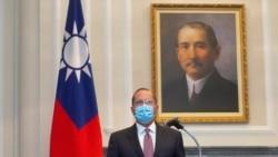 美部長訪台展示強力支持 中共戰機越台海中線秀肌肉