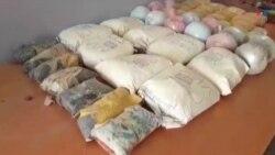جلوگیری از انتقال ۹۰ کیلو گرام مواد مخدر به کشور ایران