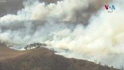 آسٹریلیا کے جنگلات میں لگی آگ بے قابو