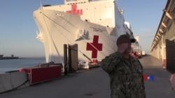 2018-10-12 美國之音視頻新聞: 美國海軍前往南美洲執行人道主義任務