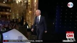 Ansyen Vis Prezidan Joe Biden nan Sant Konfwontasyon ak Lòt Kandida Demokrat yo