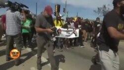 امریکی صدارتی مہم اور نسل پرستی کے خلاف مظاہرے
