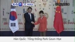 Trung Quốc, Nam Triều Tiên mở rộng quan hệ kinh tế (VOA60)