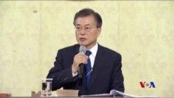 南韓總統誓言不讓第二次韓戰發生