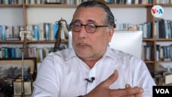 El empresario Mario Arana, miembro de la Alianza Ciudadana. [Foto: VOA/Miguel Bravo]