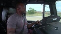 До американської мрії за кермом вантажівки: як без освіти та англійської заробляти не менше керівника компанії. Відео