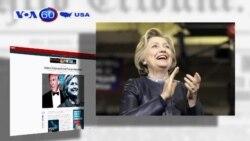 Dự đoán bà Clinton có thể đè bẹp ông Trump vào tháng 11 (VOA60)