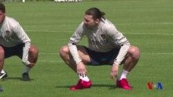 Première séance d'entraînement d'Ibrahimovic (vidéo)