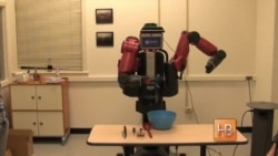Робот учится готовить