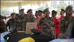 Hommage aux Casques bleus tanzaniens tués en RDC (vidéo)