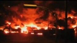 2013-07-10 美國之音視頻新聞: 加拿大調查人員分析運油火車爆炸前的一次火災