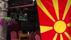 Знамињата поставени, шаловите подготвени: Се загрева атмосферата пред историскиот меч на македонската репрезентација