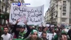 VOA60 DUNIYA: Masu Zanga-zangar Na Neman Shugaba Abdelaziz Bouteflika Ya Yi Murabus