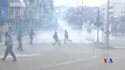 2016-01-10 美國之音視頻新聞: 科索沃反政府抗議演變成暴力