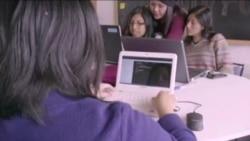 妇女在科技就业和使用科技方面落后于男性