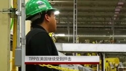 TPP 在美国继续受到抨击